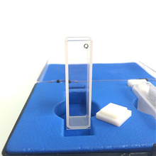 石英キュベット光路10ミリメートルクォーツ吸収携帯3.5ミリリットル液体サンプル携帯分光器携帯frit焼結技術2/pk