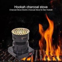 Calentador de placa caliente de 220V y 600W, Shisha, Hookah, quemador de café, estufa eléctrica, campamento al aire libre, suministro de Fiesta al aire libre