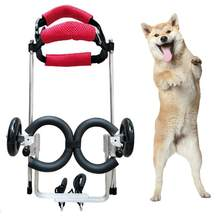 Dog Wheelchair Hind Legs Auxiliary Pet Wheelchair(China)
