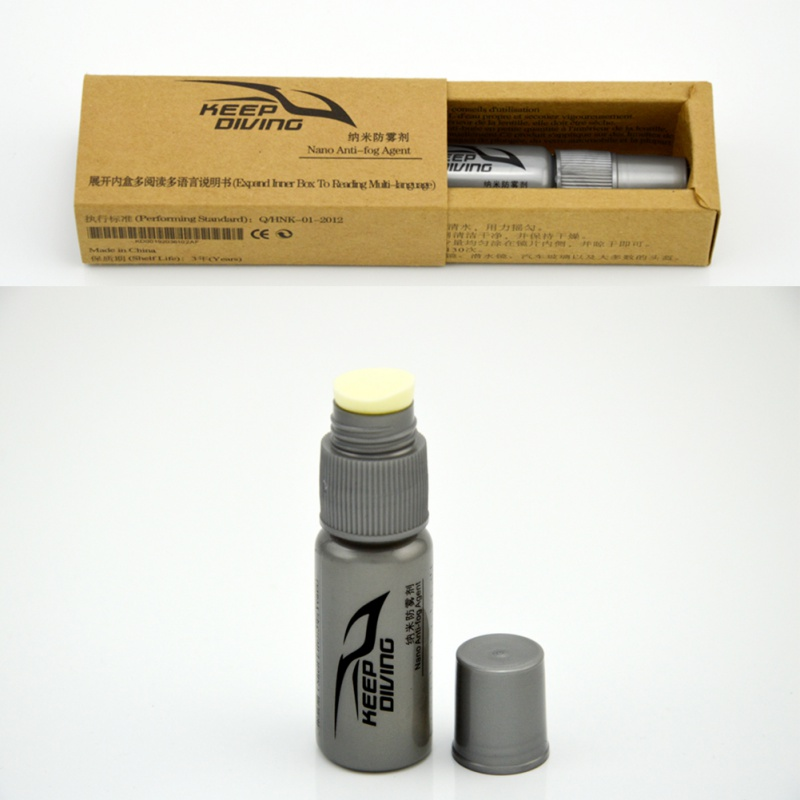 1pcs Defogger Solid State Defog Anti Fog Agent For Swim Goggle Glass Lens Dive Mask Cleaner Solution Antifogging Spray Mist  S3