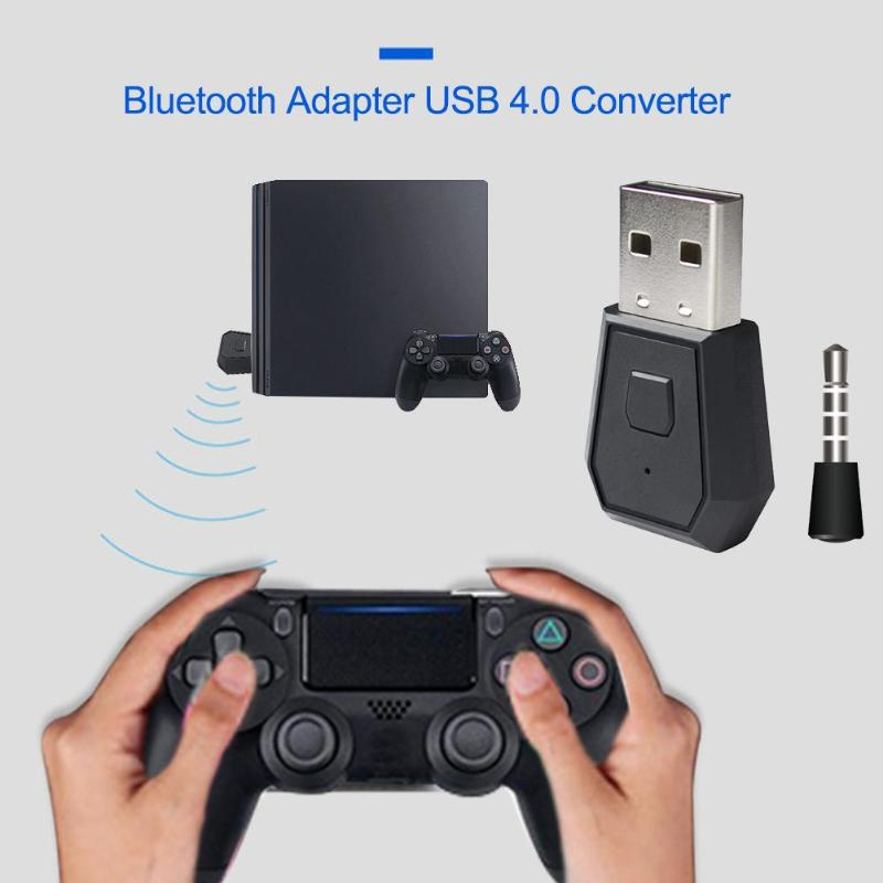 Hot Sale Usb Receiver Adapter Classic Delicate Wireless Bluetooth Usb 4 0 Adapter W 3 5mm Receiver For Sony Ps4 Game Console Usb Receiver Adapter Aliexpress