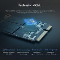 ORICO SSD mSATA SSD Solid State Disk 128GB 256GB 512GB 1TB MSATA Internal Solid State Hard Drive For Desktop Laptop M200