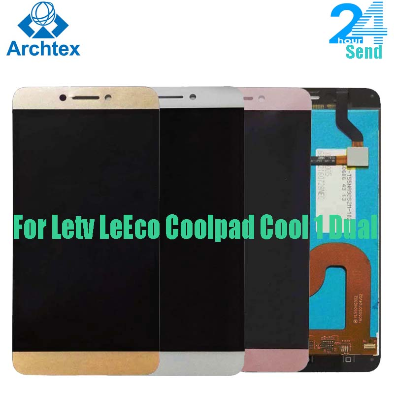 For Original Letv <font><b>LeEco</b></font> Coolpad <font><b>Cool</b></font> <font><b>1</b></font> Dual c106 c106-7 C106-9 C106-8 LCD <font><b>Display</b></font> + Touch Screen Digitizer Assembly 5.5 inch image