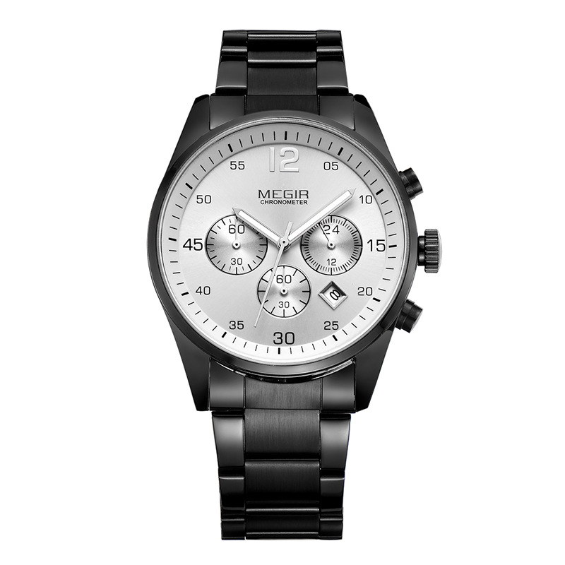 Natural Detox Gainer <font><b>Megir</b></font> MEN'S Multi-functional Watch Night Light Waterproof Quartz Watch Hot Sales Watch <font><b>2010</b></font> image