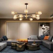 Nuovo lampadario 220 lampada da soffitto Vintage decorazione domestica per camera da letto natale LED Decor Light in soggiorno lampada moderna a LED