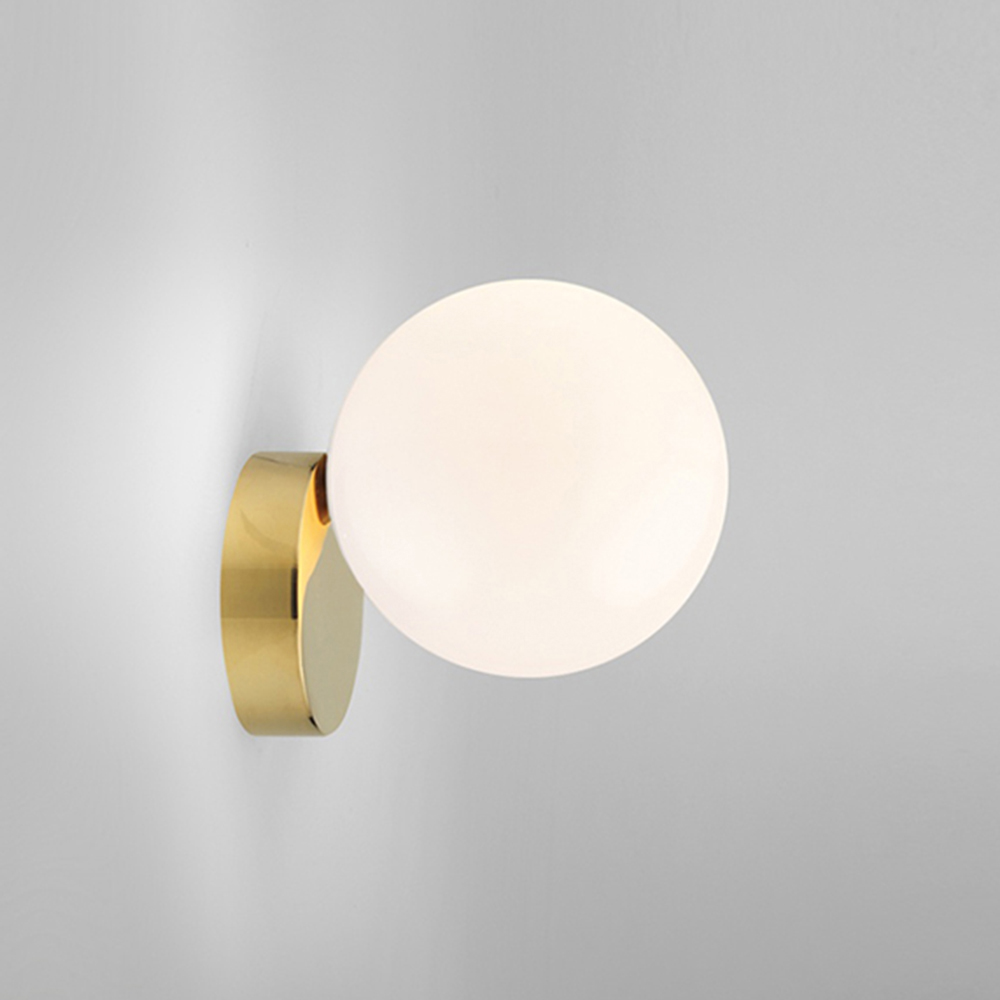 Nordic Wall Light Bedside Led Wall Lamp Modern Staircase Lamp Living Room Golden Wall Glass Ball Surface Wall Lighting