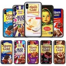 Alenka bar chocolate Soft Silicone Case for Apple iPhone 11 Pro XS Max XR X 8 7 6S Plus 5S SE 7Plus 8Plus 11Pro 6SPlus Cases