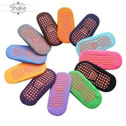 Groothandel Hoge Kwaliteit Aanpassen Grip Veiligheid Trampoline Sokken Voor Mannen Vrouwen En Kinderen