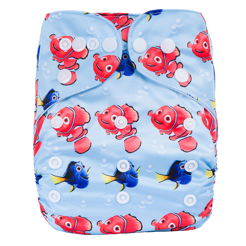 Cloth Diapers All In One Reusable Prefold Cloth Diapers For Baby Terry Towel Cotton Sleepy Nappy N6