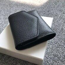 111789 Luxury Designer Brand Fashion Women Man Bags Handbags Purse Wallet  AAA TOP QualityReal Genuine Leather Card Bag