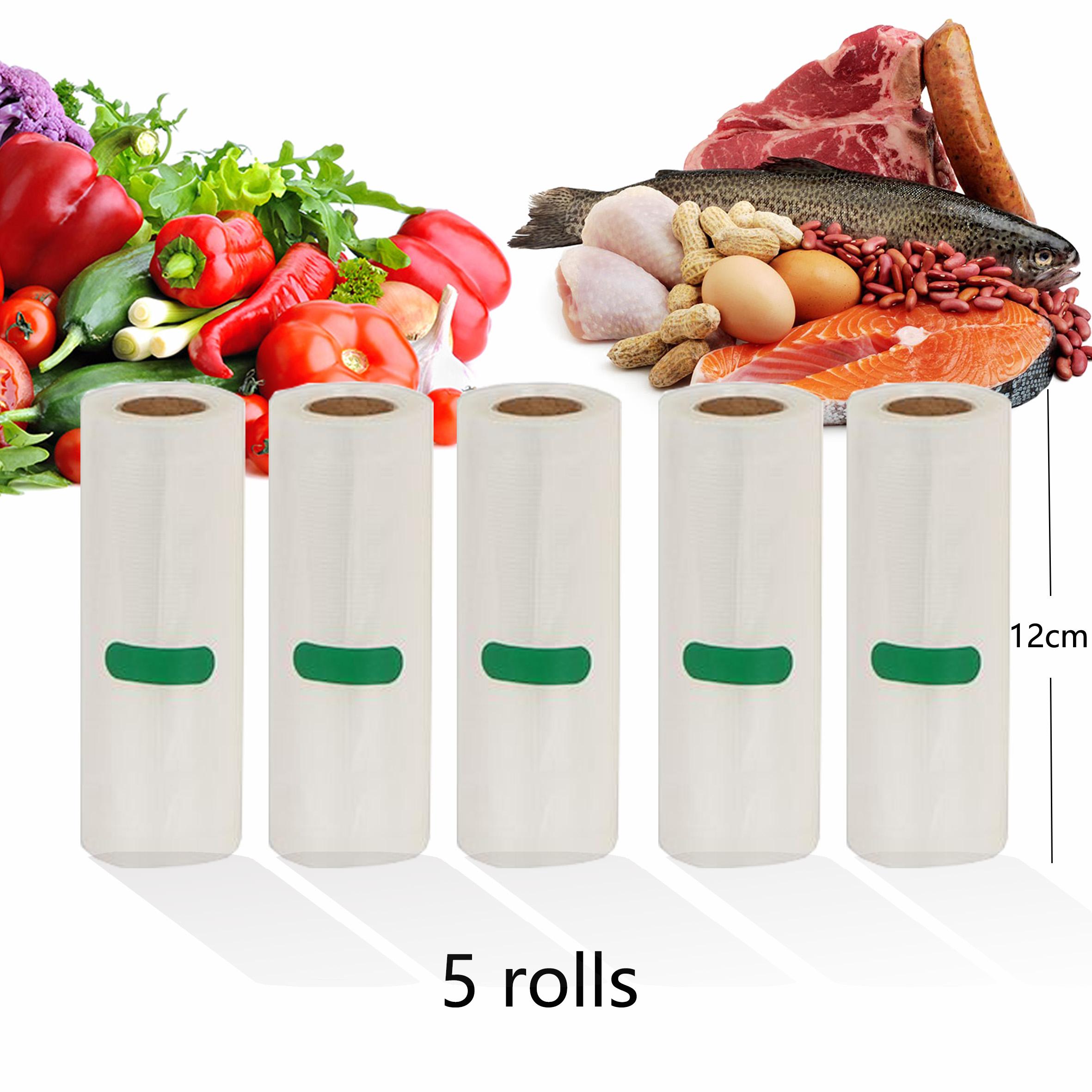 Household Kitchen Food Vacuum Bag Storage Bags For Vacuum Sealer Vacuum Packaging Packer for Food 12/15/20/25/28cm*500cm