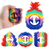 1PCS Simple Snapperz Sensory Fidget Snap Hand Toy Relief Stress Relieve Anti-anxiety Silicone Toy Fidget Sensory Toy Brinquedos