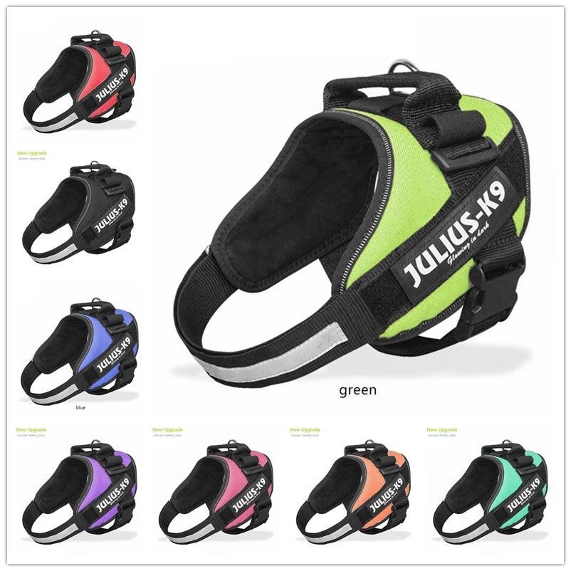 Dog Harness Sets JULIUS K9 Dog Harness Vest Collar For Small Big Grow Training Pet Safety Cat Waterproof Nylon