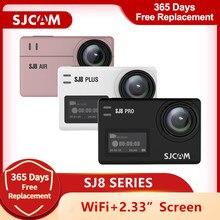 SJCAM SJ8 pro – caméra d'action originale, 4K, sj8 air 1296P, Wifi, étanche, écran tactile 2.33, sport de plein air, DV