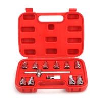 12Pcs Auto Öl Ablauf Stecker Remover Wrench Anti Verbrühen Demontage Werkzeug Öl Ablauf Stecker Schlüssel Set Hexagon Buchse Kit mutter Adapter Auto Zu-in Schraubenschlüssel aus Werkzeug bei