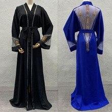 אפריקה בגדי 2020 גלימה חדשה של מעיל ריש Bazin אפריקאי שמלת עבור נשים סקסי פאייטים פרספקטיבת קרדיגן גלימת של מעיל