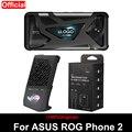 Original Gleichen absatz Für ASUS ROG telefon 2 fall ZS660KL Offizielle Telefon abdeckung + Lüfter Halter + 30W schnelle ladekabel