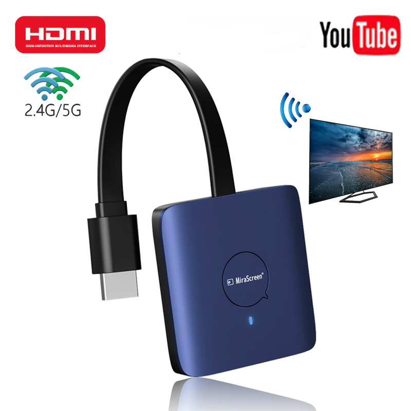 HDMI Mirascreen TV Stick WIFI 2,4G/5G 4K Screen Sharing 1080P Gleichen Bildschirm Smart Anycast projektor für YouTube Computer Tablet TV
