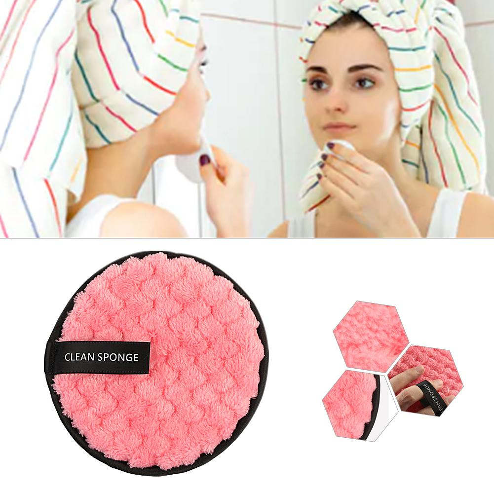 Lazy Water Cleansing Powder Puff Double - Sided Wash Sponge Cleansing Make - Up Removal Pads Make Up Cleansing Pads MAKEUP REMOV