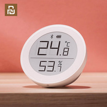 YouPin Clear Grass Digital bluetooth Thermometer Hygrometer 0~50 Electronic Ink Screen 30 Days Data Automatic Recording By APP