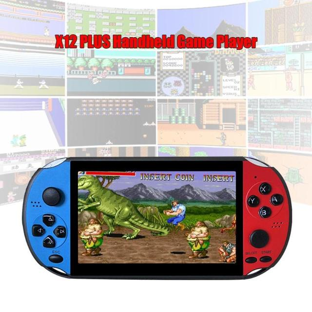 X12PLUS 8GB Retro PSP Handheld Video Game Player 5.1 Inches Built-in 2000 GBA FC NES Games Supporting Camera and 30W Pixels 4