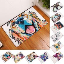 Lovely Pet Dog Hallway Door Mat Entrance Floor Rug Anti-slip Bathroom Carpet Kitchen Mat Kitchen Carpet Home Decor