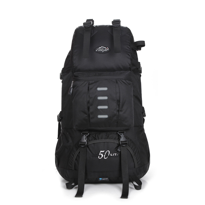 Men Backpack Outdoor Sports Hiking Bag Men's Lightweight Travel Bag Multi-functional Backpack Large Capacity School Bag