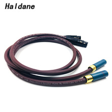 Haldane Pair Ortfon-1 2RCA Male to 2 XLR Female Cable RCA XLR Interconnect Audio Cable Gold plated PLUG with Prism OMNI 2 Wire atlas ascent 2 0 cable 2 0m transpose z plug gold