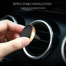 Magnetic Phone Holder for iPhone xs max Samsung A50 A70 on Xiaomi Car GPS Air Vent Mount Magnet Cell Stand