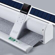 Система зарядки Автоматическая моторизованная рольставни Индивидуальный размер для дома и офиса Google Home Alexa совместимый через Broadlink