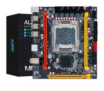 цена на ALZENIT X79I-CD2 C202 H61 For Intel X79 New Motherboard LGA 2011 Xeon E5 M.2 NVME NGFF RECC DDR3 64GB USB2.0 Mini-ITX Mainboard