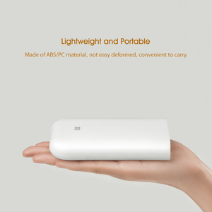 Image 5 - Xiaomi Printer AR Printer 300dpi Portable Photo Mini Pocket With DIY Share 500mAh picture printer pocket printer work with mijia