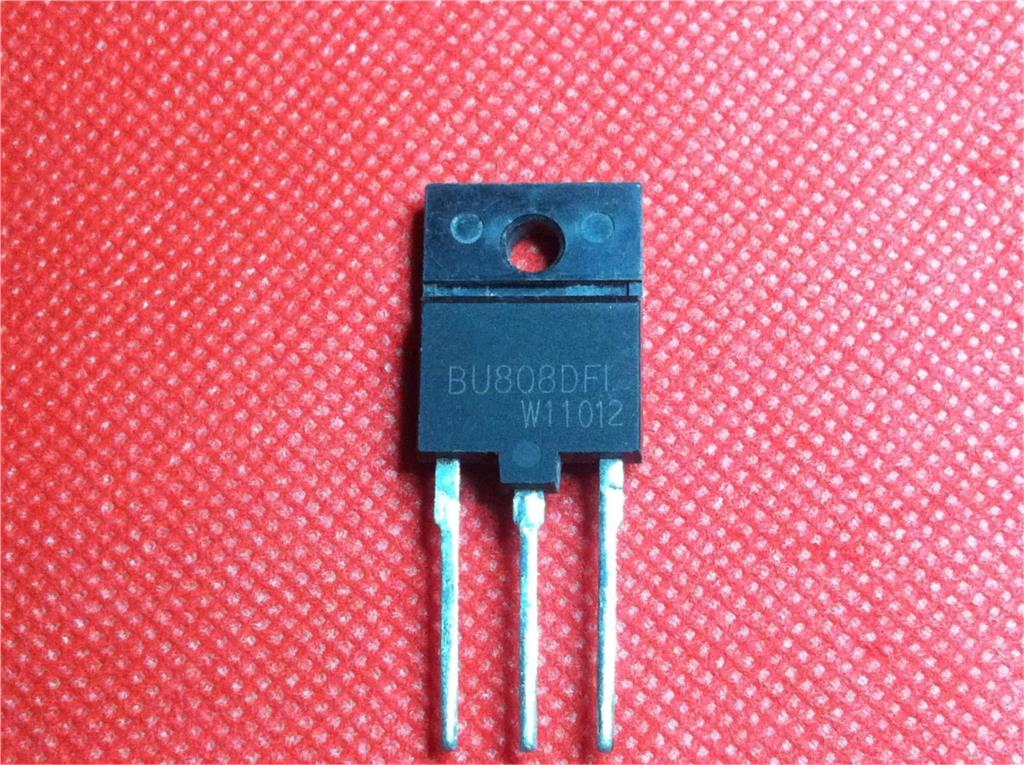 1pcs/lot BU808DFI BU808DF BU808D BU808 TO-3PF In Stock