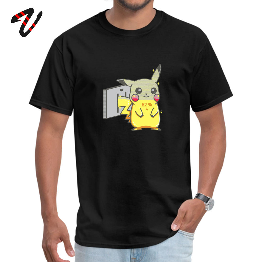 <font><b>Detective</b></font> <font><b>Pikachu</b></font> <font><b>Tshirt</b></font> Pokemon Flash <font><b>Pikachu</b></font> Funny Cartoon Print New T Shirt 100% Cotton Star Wars Mario Pokemon T-Shirt Boy image