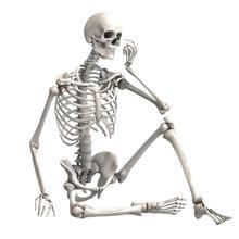 90 см Моделирование человеческий скелет украшение для Хэллоуина бара реквизит для дома с привидениями