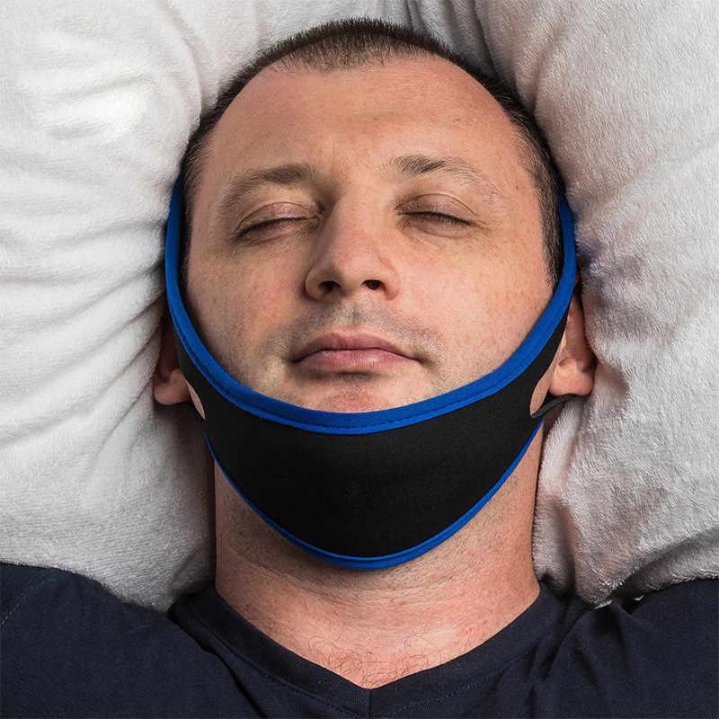 רצועת סנטר אנטי רעש חגורת דום נשימה לסת פתרון תמיכה שינה להפסיק נחירות טיפול אנטי באז נוח שינה טיפול כלים