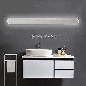 Moderne Zwart/Badkamer Led Spiegel Verlichting 0.4M ~ 1.2M Muur Lamp Slaapkamer Trap Licht Led Wandlampen applique Murale Armatuur