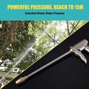 Image 5 - בית רכב לשטוף מכונית נקיה בלחץ גבוה מים אקדח צינור זרבובית השקיה גינון כלים חרירים עבור מנקי לחץ