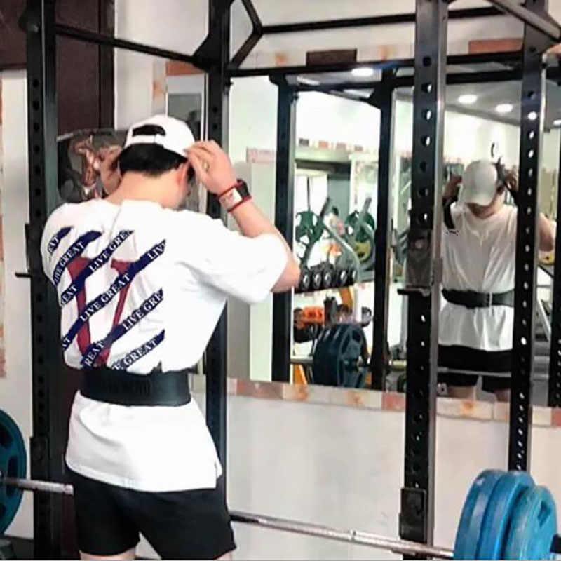 Marka erkek kas T gömlek vücut geliştirme fitness erkek üstleri pamuk atlet artı büyük boy tişört pamuk örgü kısa kollu gömlek