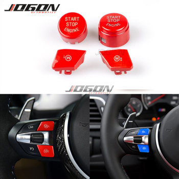 Translucent Sport Steering Wheel M1 M2 Switch Replace Engine Button For BMW M3 M4 M5 M6 X5M X6M F80 F82 F83 F10 F06 F15 F16 image