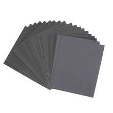 5pcs 280*230mm 60 Mesh To 2000 Mesh Water Resistant Abrasive Paper Water Abrasive Paper Sanding Paper Polishing Abrasive Paper
