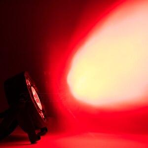 Image 2 - 4 قطعة/الوحدة LED الدهون الاسمية 9X10W + 1X30W RGB ضوء RGB 3IN1 LED المرحلة الإضاءة DJ ضوء DMX Led الاسمية أضواء الحفلات