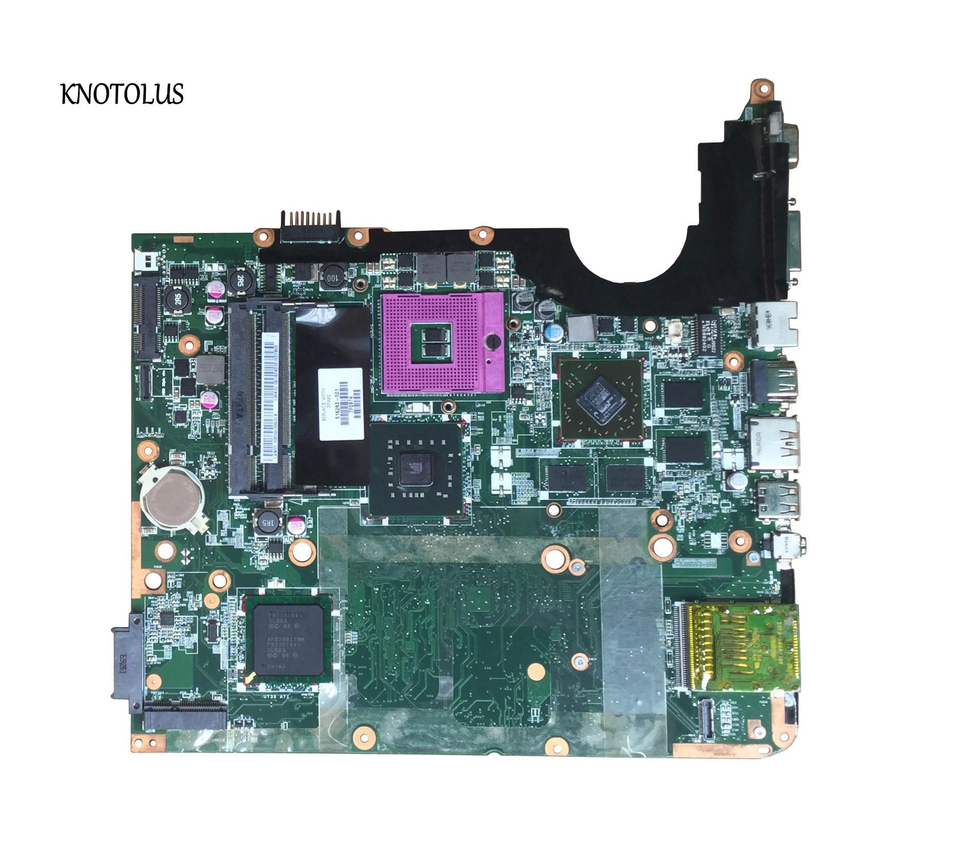 516293-001 For HP Pavilion DV7 DV7-2000 Laptop Motherboard PM45 DDR2 HD4530 DDR2 tested