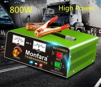 Monfara carregador de bateria 12v24v carro especial caminhão marinho de alta potência cheio de auto-stop cobre puro