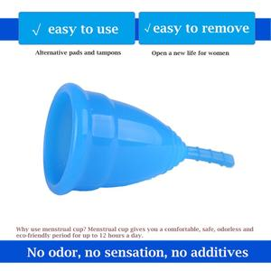 Image 4 - 300 pcs FDA นุ่มขายส่ง Reusable Medical Grade ซิลิโคนถ้วยประจำเดือนผลิตภัณฑ์สุขอนามัยสำหรับผู้หญิง Lady ขนาด Copo BMC01RG