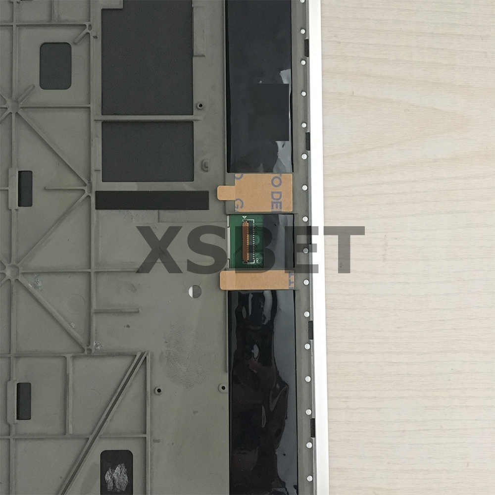 10.1 'For Lenovo Yoga Tablet 10 B8000 B8000-H tam lcd ekran paneli dokunmatik ekranlı sayısallaştırıcı grup çerçeve ile