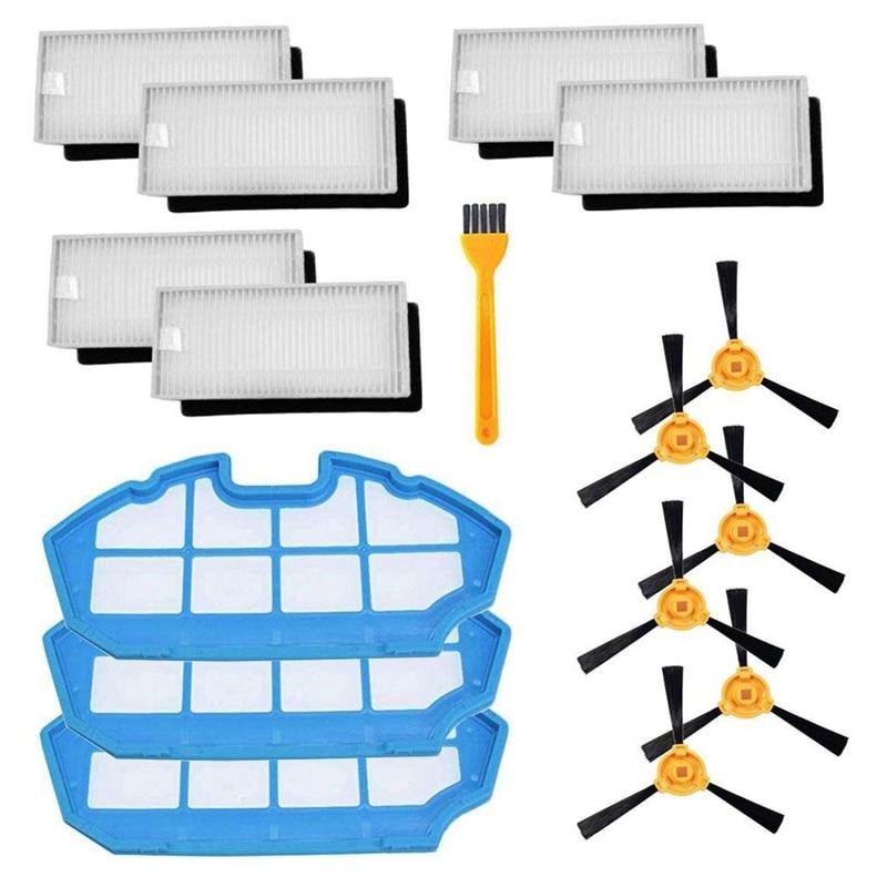 Remplacement pour Ecovacs Deebot N79 N79S Robot aspirateur Kit d'accessoires (Set 1)