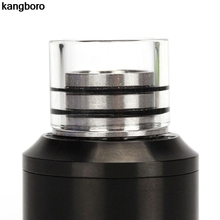 Vape Mouthpiece Drip-Tip Stainless-Steel Anti-Spit Atomizer RDTA MTL for 510 RBA Back-510