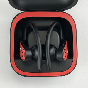 Image 2 - YCSTICKER Newest Bluetooth Headphone Sticker For Beats Powerbeats Pro Dust proof Decorative Protective Earphone Film Cover