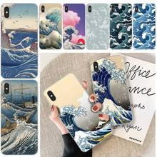 LJHYDFCNB Wave spray Cover Soft Shell Phone Case For iphone 6 6s plus 7 8 plus X XS XR XS MAX 11 11 pro 11 Pro Max Cover ljhydfcnb wave spray cover soft shell phone case for iphone 6 6s plus 7 8 plus x xs xr xs max 11 11 pro 11 pro max cover